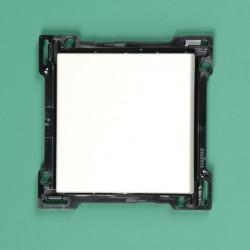 154-00006 Wippe 1-fach mit Textfeld Weiß