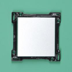 104-00033 Wippe 2-fach für Bustaster mit LED Greige