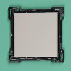 122-00033 Wippe 2-fach für Bustaster mit LED Anthrazit