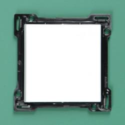 101-00034 Wippe 2-fach für Bustaster mit LED, bedruckt mit I und 0, Reinweiß