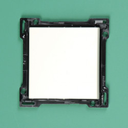 154-00042 Wippe 4-fach für Bustaster mit LED Weiß