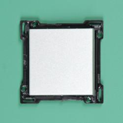 121-00045 Wippe 4-fach für Bustaster mit LED, bedruckt mit 'auf' und 'ab', Sterling
