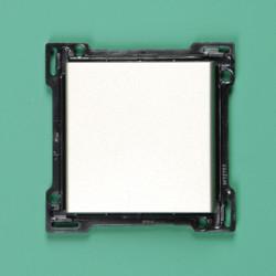 157-00045 Wippe 4-fach für Bustaster mit LED, bedruckt mit 'auf' und 'ab', Champagner