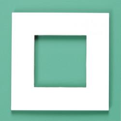 155-76100 Pure Alu-Grau 1-fach