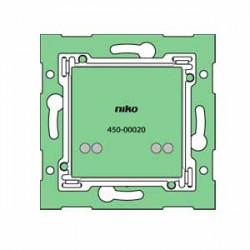 450-00028 - Montageleiterplatten zum Kombinieren mit einer Anschlusseinheit - 3-fache vertikale Montageleiterplatte, Mittenabsta