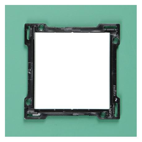 102-00043 Wippe 4-fach für Bustaster mit LED, bedruckt mit I und 0, Hellgrau